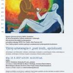 """Konference Výzvy arteterapie v """"post truth"""" společnosti"""
